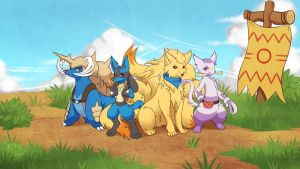 A Group Picture by LazyAmphy