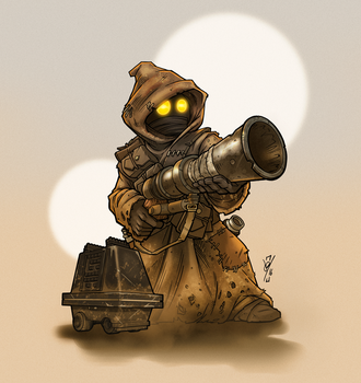 Jawa'n'Mouse by DazTibbles