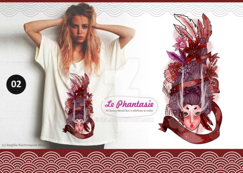 Le Phantasie, Illustration Tshirt 02 by Eijiel