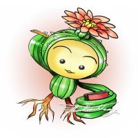 Legend of Mana - Lil Cactus by KeyPassions