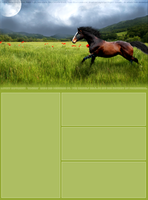 My howrse Layout. by equine-aspire-art
