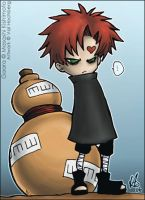 Cute Gaara by valval