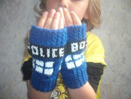 TARDIS mitts by mrseviltedi
