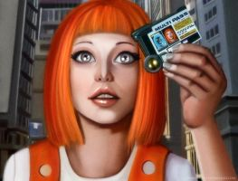 Leeloo Dallas by demidevil13