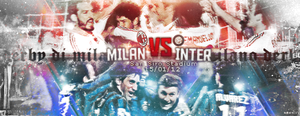 Milan vs Inter - Derby di Milano 2012 by OmarMootamri