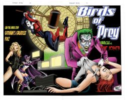 Birds of Prey Wraparound Color by RobertDanielRyan