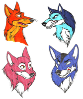 AOFW-The Foxes by NY-Stray