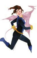 Kitty Pryde Series 2, Costume 4 by kevinwada