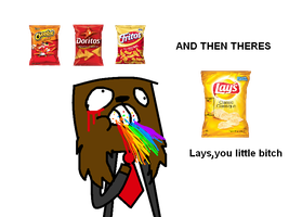 Lays Chips is a such a rebel by Ask-Insane-ASFJerome