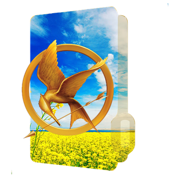 Mockingjay Folder Icon by doctorcressa