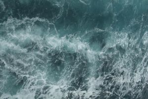 Turbulent water by mjranum-stock