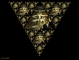 Sierpinski Made Me Do It ! by ScraNo