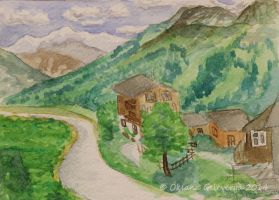 The Alpine Valley 3 by Oksana007
