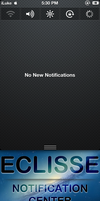 Eclisse Notification Center Background by HorizonIndustries
