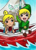 LINK AND TETRA by SANACHI