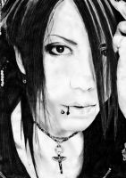 Aoi The Gazette by Baricka