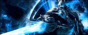 Lich King (Wotlk) - World of Warcraft - tag/sig by Serendiadotde
