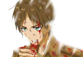 Eren Jaeger SNK by reese-yamawe