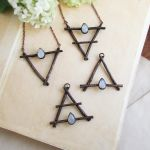 Alchemy Elements Symbols Necklaces by MarrieKo