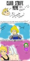 Cloud Strife Meme!!! XD by GaialeiStrife