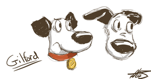 Gilford doodle by SuperGhostDuck01