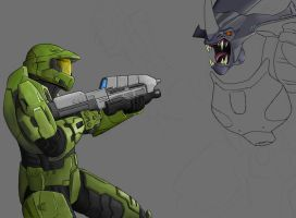 Halo - Encounter - Wip by AzureChris