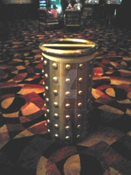 Dalek in disguise as a Trash can by creativesnatcher69