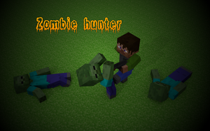 Zombie hunter wallpaper HD by Benderxable