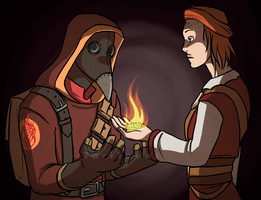 In Which Qara finds a Friend by TariToons