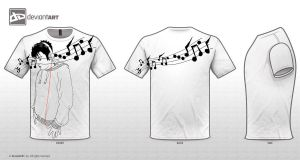 PART of LIFE : Music T-Shirt Design by untangled