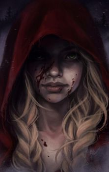 Red Riding Hood by bewareitbites