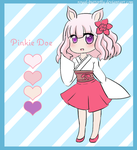 Chibi Pink Doe Adoptable by Royal-Butterfly