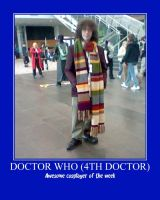 Awesome Cosplayer: Doctor Who (4th Doctor) by MasterRBG