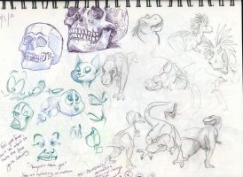 Sketches Mar 2010 06 by FablePaint