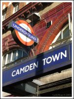 Camden Town Underground by LadyBlues