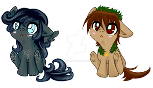 Christmas adopts! ((CLOSED!)) by FluffleBear