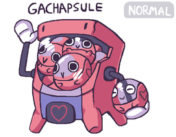 Gachapsule by brotoad