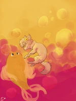 The Goldfish .:Speedpaint:. by xx-shooting-stars-x