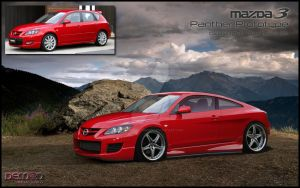 Mazda 3 Panther Prototype by TMSVirtualTuning