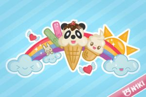 Ice Cream Party by N1kishop