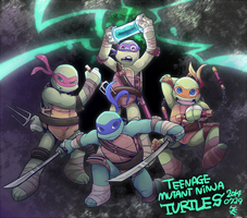 TMNT by hakutooon