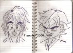 Dragon Ball Character Sketch 2 by Tigerstar2000