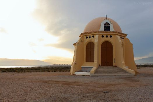 Kind of chapel in Cabo de Gata Natural Park by Jorapache