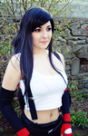 Tifa Lockhart Cosplay - Final Fantasy VII by Priestess-of-Avalon