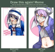 Draw this again meme by k0423