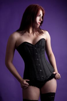 Lucy corset 27 by Random-Acts-Stock