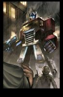 Optimus Concept by kieranoats