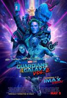 New Guardians of the Galaxy Vol. 2 IMAX Poster by Artlover67
