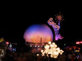 Epcot Spaceship Earth Stock 28 by AreteStock