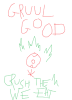 Gruul Poster by adrius15